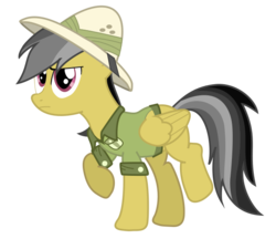 Size: 618x533 | Tagged: artist:exudesaffluence, daring do, safe, solo