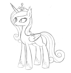 Size: 1000x1029 | Tagged: safe, artist:kas92, princess cadance, bat pony, pony, fangs, lovebat, monochrome, sketch, smiling, solo