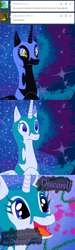 Size: 1000x3329 | Tagged: safe, artist:azurek, nightmare moon, ask princess moon, comic, discorded, tumblr