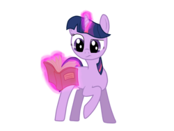 Size: 800x600 | Tagged: artist:l-tex-l, levitation, magic, reading, safe, solo, telekinesis, twilight sparkle