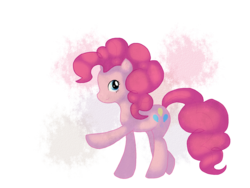 Size: 1600x1200 | Tagged: artist:chandeluree, pinkie pie, safe, solo