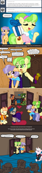 Size: 486x1990 | Tagged: safe, artist:ficficponyfic, chickadee, ms. peachbottom, oc, cyoa:peachbottom's quest, alternate hairstyle, cyoa, jezzie belle, tumblr