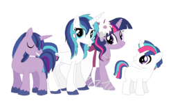 Size: 863x510 | Tagged: safe, artist:hateful-minds, shining armor, twilight sparkle, pony, blank flank, colt, cute, female, gleamibetes, gleaming shield, gleaming sparkle, half r63 shipping, incest, lesbian, magical lesbian spawn, male, offspring, parent:gleaming shield, parent:shining armor, parent:twilight sparkle, parents:shining sparkle, product of incest, rule 63, rule63betes, shining adorable, shiningsparkle, shipping, stallion, twicest