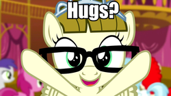 Size: 960x536 | Tagged: safe, screencap, zippoorwhill, filli vanilli, bronybait, cute, filly, hug, hug request, zippoorbetes