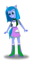 Size: 639x1249 | Tagged: safe, artist:deannaphantom13, oc, oc only, oc:ice cloud, equestria girls, simple background, solo, transparent background