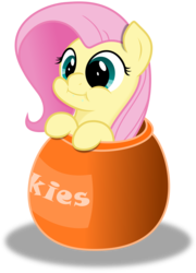Size: 10808x15000 | Tagged: safe, artist:kysss90, artist:otto720, fluttershy, absurd resolution, colored, cookie jar, cookie jar pony, cute, puffy cheeks, shyabetes, simple background, solo, transparent background, vector, weapons-grade cute