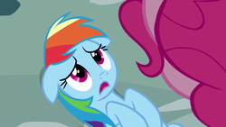 Size: 1920x1080 | Tagged: out of context, pinkie pie, pinkie pride, rainbow dash, safe, screencap