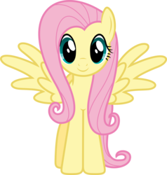 Size: 4482x4713 | Tagged: safe, artist:xpesifeindx, fluttershy, .svg available, absurd resolution, cute, female, looking at you, shyabetes, simple background, solo, standing, transparent background, vector