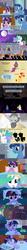 Size: 960x8940 | Tagged: safe, artist:beavernator, night light, princess celestia, spike, star swirl the bearded, sunset shimmer, trixie, twilight sparkle, alicorn, pony, comic, dream, female, filly, foreshadowing, mare, momlestia, pointy ponies, twilight sparkle (alicorn)