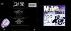 Size: 2368x1036 | Tagged: safe, artist:masterjosh140, apple bloom, babs seed, scootaloo, sweetie belle, changeling, hydra, album, album cover, album parody, cutie mark crusaders, hooves, logo parody, misfits, multiple heads