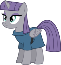 Size: 913x970 | Tagged: alicorn, everyone is an alicorn, godmaud, maudicorn, maud pie, maud pie (episode), pony, safe, solo
