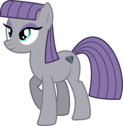 Size: 706x726 | Tagged: safe, artist:cheezedoodle96, maud pie, earth pony, pony, maud pie (episode), .svg available, female, mare, simple background, smiling, solo, svg, transparent background, vector, when she smiles, wrong cutie mark