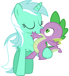 Size: 1206x1320   Tagged: safe, hundreds of users filter this tag, lyra heartstrings, spike, crack shipping, female, kissing, male, shipping, spyra, straight