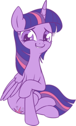 Size: 352x580 | Tagged: safe, artist:stoic5, twilight sparkle, alicorn, pony, cute, female, looking at you, mare, solo, twiabetes, twilight sparkle (alicorn)