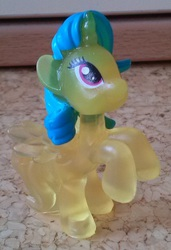 Size: 610x890 | Tagged: safe, lemon hearts, alicorn, pony, alicornified, blind bag, bootleg, lemoncorn, race swap, toy