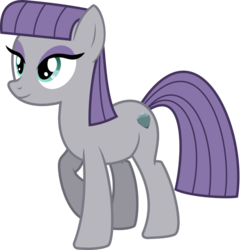 Size: 706x726 | Tagged: safe, artist:cheezedoodle96, maud pie, earth pony, pony, .svg available, cutie mark, female, mare, simple background, smiling, solo, svg, transparent background, vector, when she smiles