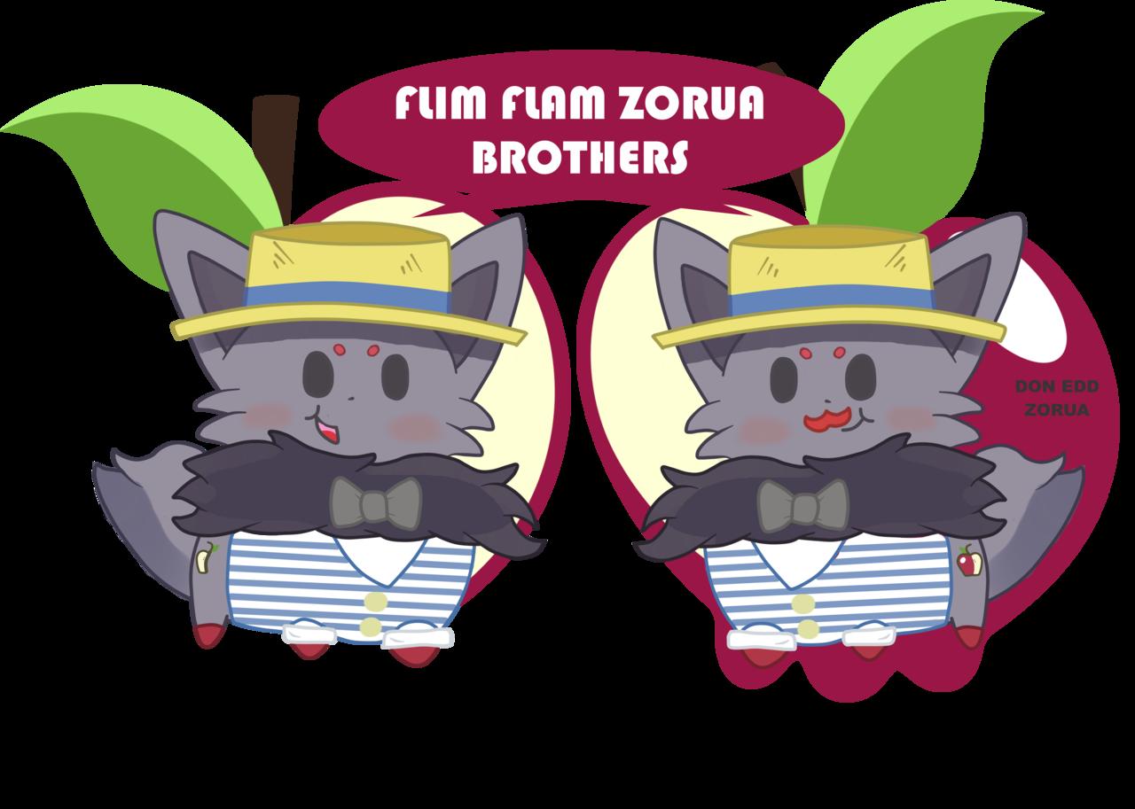587401 apple artist doneddzorua brothers chibi cider cute