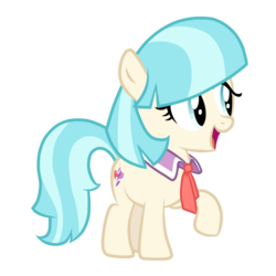 Size: 1800x1800 | Tagged: safe, artist:posey-11, coco pommel, cocobetes, cute, filly, simple background, solo, transparent background, vector, weapons-grade cute, younger