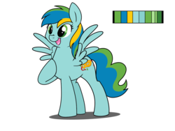 Size: 1024x768   Tagged: safe, artist:itstaylor-made, oc, oc only, oc:carnival charm, pegasus, pony, solo