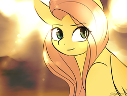 Size: 1600x1200 | Tagged: safe, artist:sugarberry, fluttershy, female, solo