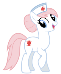 Size: 809x988 | Tagged: safe, artist:drfatalchunk, nurse redheart, female, simple background, solo, transparent background, vector