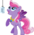 Size: 1107x1158 | Tagged: safe, artist:kaylathehedgehog, starsong, pegasus, pony, g3, g4, and a beautiful starsong melody, element of dreams, elements of harmony, female, g3 to g4, generation leap, jewelry, microphone, necklace, singing, solo