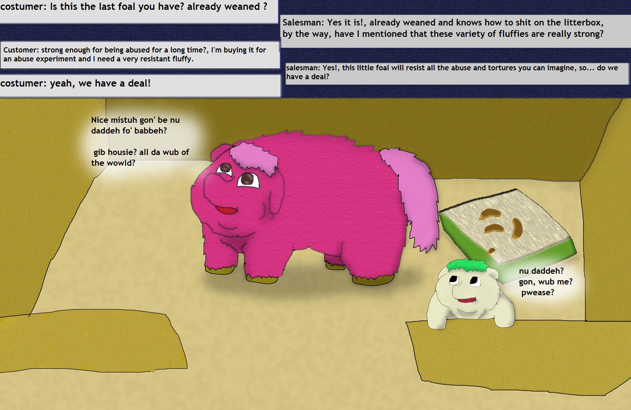 627034 Abuse Artistroufe Fluffy Pony Fluffy Pony Foal Fluffy
