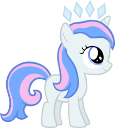 Size: 847x944 | Tagged: safe, artist:liggliluff, oc, oc only, oc:princess paradise, filly, simple background, solo, tiara, transparent background, vector