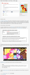 Size: 725x1774 | Tagged: article, blog, brony, brony copyright drama, cease and desist, copyright silliness, equestria girls, hasbro, horse news, mandomommy, oc, oc:mandomommy, oc only, safe, screencap, text, youtube, zazzle