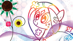 Size: 1920x1080 | Tagged: safe, artist:andypriceart, artist:k-anon, may flowers, solo, vector, wallpaper