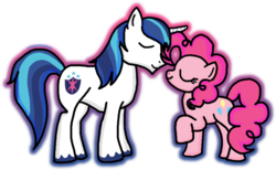 Size: 1024x631 | Tagged: artist:st0nerp0ny, crack shipping, female, infidelity, male, pinkie pie, safe, shining armor, shiningpie, shipping, straight
