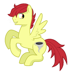 Size: 552x564 | Tagged: safe, artist:unoriginai, oc, oc only, oc:dusty, pegasus, pony, flying, magical lesbian spawn, male, offspring, parent:apple bloom, parent:scootaloo, parents:scootabloom, simple background, solo, stallion, transparent background