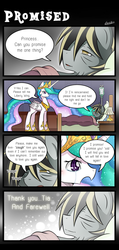 Size: 1000x2100 | Tagged: safe, artist:vavacung, princess celestia, oc, oc:liberty wing, comic:to love god - to love mortal, canon x oc, comic, crying, death