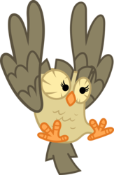 Size: 2309x3536 | Tagged: safe, artist:porygon2z, owlowiscious, simple background, solo, transparent background
