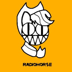 Size: 400x400 | Tagged: safe, artist:platypus in a can, applejack, radiohead, solo