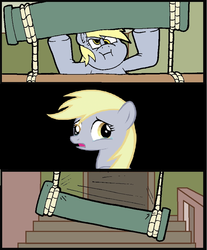 Size: 758x914   Tagged: safe, derpy hooves, pegasus, pony, clone, derpies, derpy alone, derpybuse, female, mare, meme, multeity, self ponidox, unstoppable force of derp