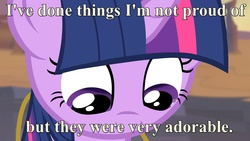 Size: 1920x1080   Tagged: safe, edit, twilight sparkle, alicorn, pony, atop the fourth wall, cute, dr. insano, female, looking down, mare, quote, solo, the ultimate warrior, twilight sparkle (alicorn)