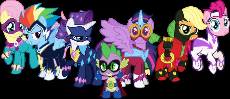 power ponies hq fimfiction