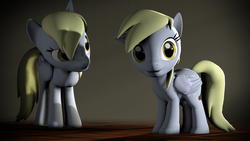 Size: 1920x1080   Tagged: safe, artist:argodaemon, derpy hooves, 3d, cute, derpabetes, filly, foal, self ponidox, source filmmaker, underp, younger
