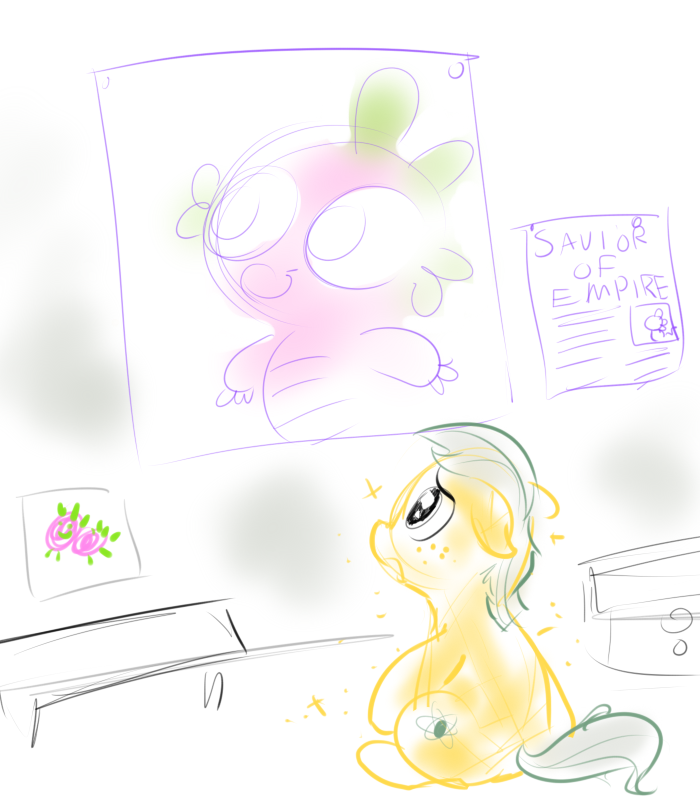 674112 - atomic crystal, beta particle, crystal pony