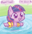 Size: 624x659 | Tagged: artist:mcponyponypony, cute, daaaaaaaaaaaw, featured image, filly, filly twilight sparkle, floaty, foal, hnnng, inflatable, open mouth, pony, pool, safe, smiling, solo, sweet dreams fuel, swimming, swimming pool, twiabetes, twilight sparkle, unicorn, water, water wings, weapons-grade cute