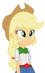 Size: 3721x6000 | Tagged: absurd res, applejack, artist:synch-anon, artist:twiforce, equestria girls, safe, simple background, solo, transparent background, vector