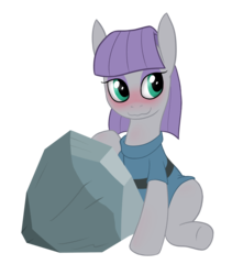 Size: 1440x1710 | Tagged: artist:hirurux, blushing, cargo ship, maud pie, rockcon, safe, shipping, tom, tomaud