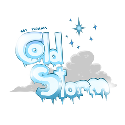 Size: 700x700 | Tagged: safe, artist:cold-blooded-twilight, comic:cold storm, cloud, coming soon, ice, no pony, stars