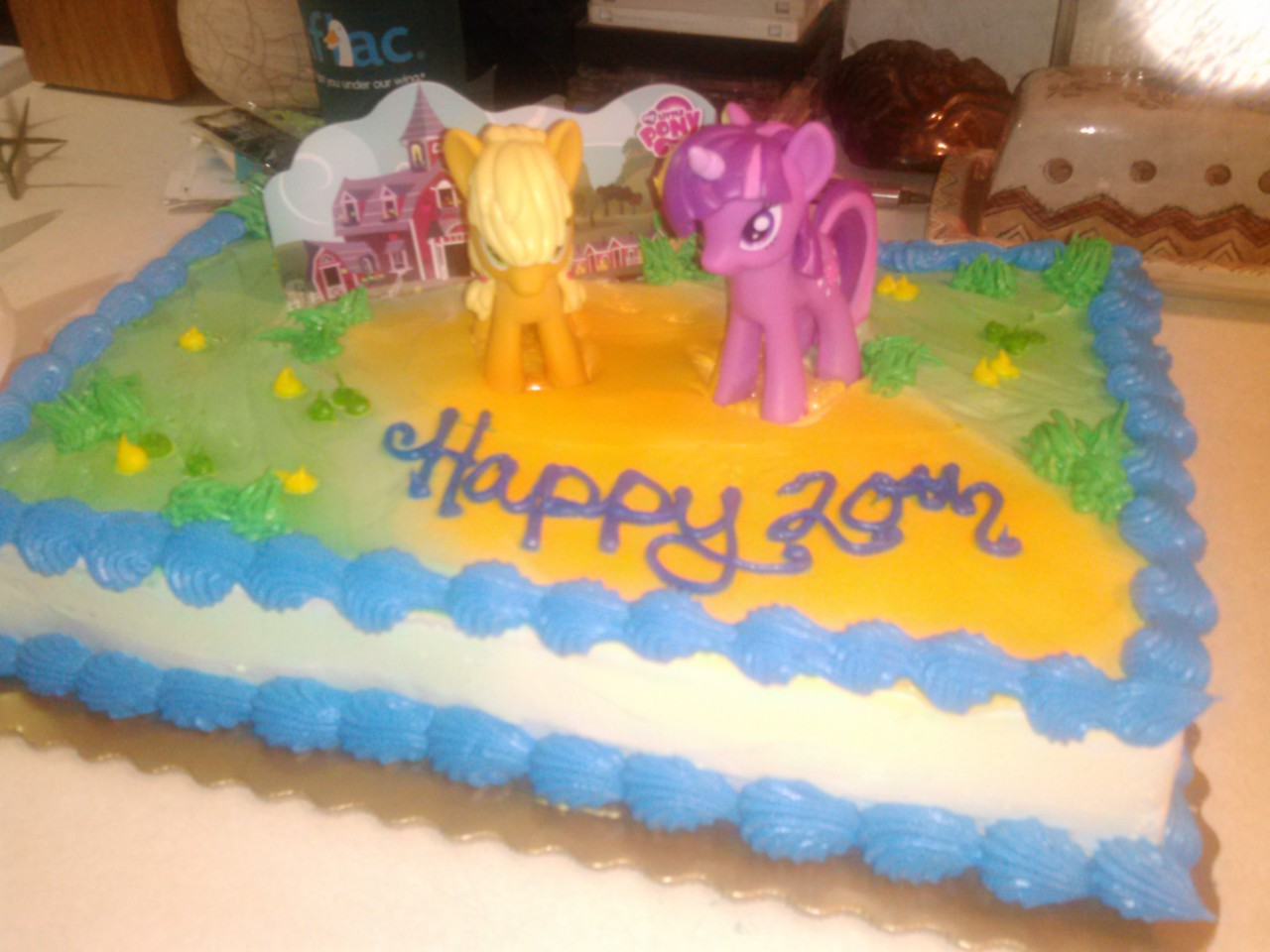 685872 Applejack Birthday Cake Food Irl Safe Toy Twilight