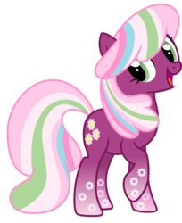 Size: 3138x3852 | Tagged: safe, artist:cloudyglow, cheerilee, earth pony, pony, female, rainbow power, rainbow power-ified, simple background, solo, transparent background, vector