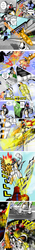 Size: 1240x8810 | Tagged: safe, artist:fourze-pony, comic, comic example, crossover, drill, explosion, fight, flying, fourze-pony, kamen rider, kamen rider fourze, kisaragi gentaro, monster, ponified, rocket, tokusatsu, tumblr, tumblr comic