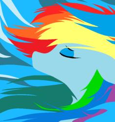 Size: 650x690 | Tagged: safe, artist:vansmidt, rainbow dash, solo