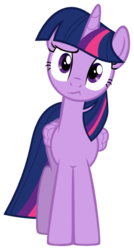 Size: 343x641 | Tagged: safe, artist:poniiandii, twilight sparkle, alicorn, pony, simple ways, confused, cute, expression, female, frown, head tilt, looking at you, mare, raised eyebrow, simple background, solo, svg, transparent background, twiabetes, twilight sparkle (alicorn), vector