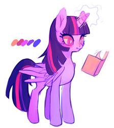 Size: 1114x1241 | Tagged: safe, artist:toycake, twilight sparkle, alicorn, pony, female, mare, twilight sparkle (alicorn)